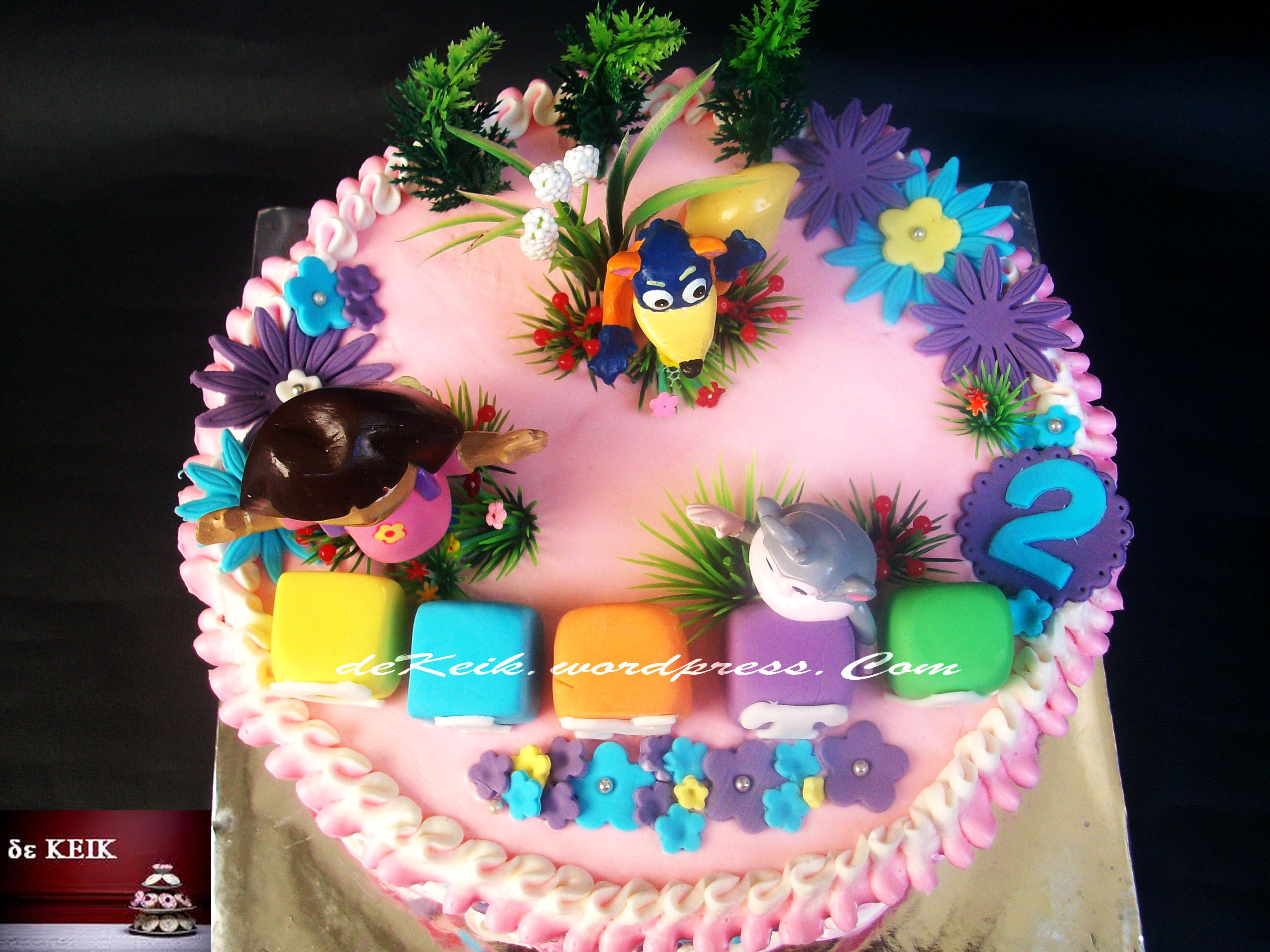 Base Cake Sponge Coklat Filling Ganache