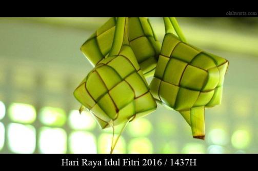 Ketupat Idul Fitri 2016 1437H